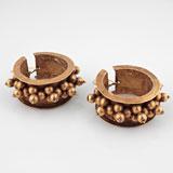 A Pair of 'Suluva' Ear Pendants -    - Folk and Tribal Art Auction
