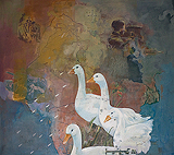 Passage to Mansarovar (Undercover) - Arunanshu  Chowdhury - Absolute Art Auction