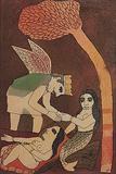 Untitled - Badri  Narayan - Absolute Art Auction