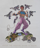 Enter the Dragon Again and Again - Ajay  Dhandre - Absolute Art Auction