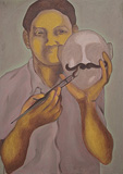 ...So I Told Her - Ebenezer Sunder Singh - Absolute Art Auction