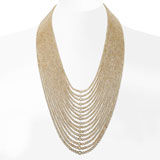 A SIXTEEN STRAND NATURAL PEARL NECKLACE -    - Autumn Auction of Fine Jewels and Silver