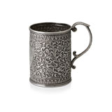 A SILVER TANKARD, OOMERSI MAWJI & CO. -    - Autumn Auction of Fine Jewels and Silver
