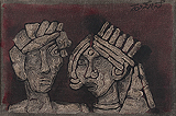 Untitled - M F Husain - Summer Art Auction