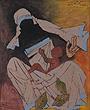M F Husain - Summer Art Auction