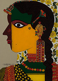 Untitled - K Laxma  Goud - Summer Art Auction
