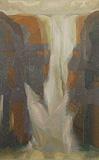 Of Cliff and Fall III - Jehangir  Sabavala - Summer Art Auction