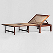 A TEAKWOOD CAMPAIGN DAY BED - Travel and Leisure Auction