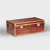 A PERIOD CABIN TRUNK -    - Travel and Leisure Auction