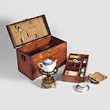 A PICNIC BOX -    - Travel and Leisure Auction