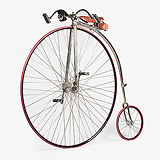 A REPLICA PENNY FARTHING BICYCLE -    - Travel and Leisure Auction