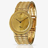 PATEK PHILIPPE: MEN'S 18 K YELLOW GOLD WRISTWATCH, REF. 2506/1 -    - Travel and Leisure Auction