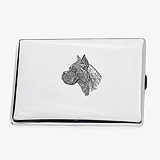 A SILVER CIGARETTE CASE, THOMAE COMPANY -    - Travel and Leisure Auction