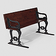 A PERIOD TRANSFORMABLE BENCH - Travel and Leisure Auction