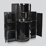AN ATTRACTIVE ART DECO COCKTAIL CABINET -    - Travel and Leisure Auction