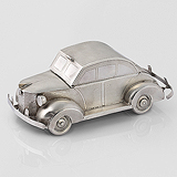 A SILVER 'CAR' SWEET BOX -    - Travel and Leisure Auction