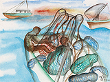 Untitled - Bhupen  Khakhar - Winter Online Auction
