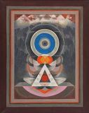 Untitled - G R Santosh - Winter Online Auction