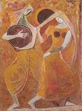 Untitled - K K Hebbar - Winter Online Auction