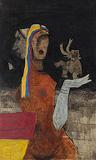 Maya II - M F Husain - Winter Online Auction
