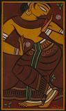 Dancing Girl - Jamini  Roy - Winter Online Auction
