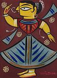 Dancer - Jamini  Roy - Winter Online Auction