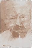 Portrait - Akbar  Padamsee - Winter Online Auction