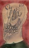 Head of a Man - F N Souza - Winter Online Auction