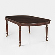 A ROSEWOOD DINING TABLE - 24-Hour Online Auction: Elegant Design