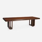 AN ART DECO DINING TABLE -    - 24-Hour Online Auction: Elegant Design