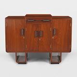 AN ART DECO SIDEBOARD -    - 24-Hour Online Auction: Elegant Design