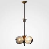 AN ELEGANT ART DECO PENDANT LIGHT -    - 24-Hour Online Auction: Elegant Design