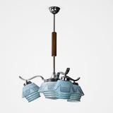 A FOUR-LIGHT ART DECO CEILING LIGHT -    - 24-Hour Online Auction: Elegant Design