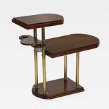 AN ART DECO SIDE TABLE SMOKER'S COMPANION -    - 24-Hour Online Auction: Elegant Design