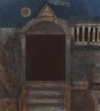 Untitled (The Gate) - Ganesh  Pyne - Modern Evening Sale   Mumbai, Live