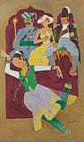 Untitled - M F Husain - Modern Evening Sale | Mumbai, Live