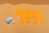 Man Dreaming and Animal - Manjit  Bawa - Modern Evening Sale   Mumbai, Live