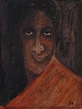 Untitled (Kadambari Devi) - Rabindranath  Tagore - Modern Evening Sale | Mumbai, Live