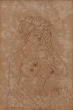 Female Nude - F N Souza - Modern Evening Sale | Mumbai, Live