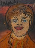 Portrait of Anne Hastings - F N Souza - Modern Evening Sale | Mumbai, Live