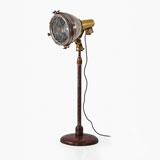 AN ART DECO THEATRE FLOOR LIGHT -    - LIVE Auction Celebrating 20th Century Design
