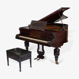 A GRAND PIANO, JOHN BROADWOOD AND SONS, LONDON -    - LIVE Auction Celebrating 20th Century Design