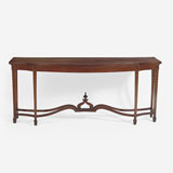 AN ELEGANT PERIOD SIDE TABLE -    - LIVE Auction Celebrating 20th Century Design