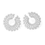 A PAIR OF DIAMOND EAR CLIPS -    - Online Auction of Fine Jewels and Silver