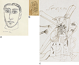 Untitled (Early Portraits and Studies After Religious Themes) - F N Souza - Modern Evening Sale | New Delhi, Live