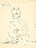 Untitled (Study for Priest) - F N Souza - Modern Evening Sale | New Delhi, Live