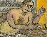 The Handsome Gentleman - Jogen  Chowdhury - Modern Evening Sale | New Delhi, Live