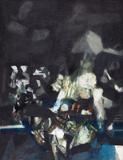 Grey Landscape - S H Raza - Modern Evening Sale | New Delhi, Live