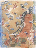 The Guarded Stair - Arpita  Singh - Summer Online Auction