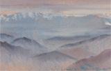 Kanchanjanga from Darjeeling - N S Bendre - Summer Online Auction